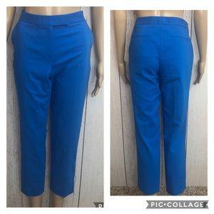 🆕 Chaus Peacock Blue Crop Pants